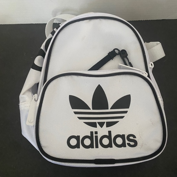 Adidas small white backpack NWOT